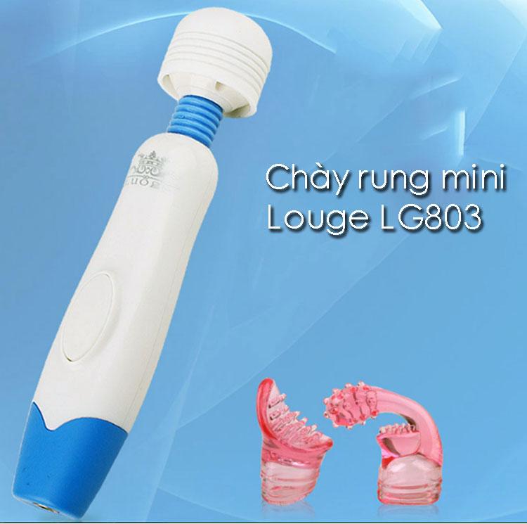 Chày rung mini Louge LG 803 sạc điện- nhỏ và siêu mạnh