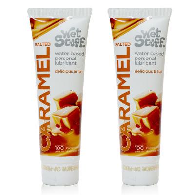 Gel bôi trơn Caramel vị mặn nếm được dùng cho quan hệ miệng oral sex